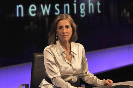 Kirsty Wark at Newnight.Read the whole article to know more about Kirsty's career and bio.