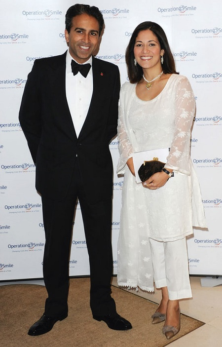 Mishal Husain wih her husband, Meekal Hashm.Know more about her married life, wedding, details, spouse and other marital data.