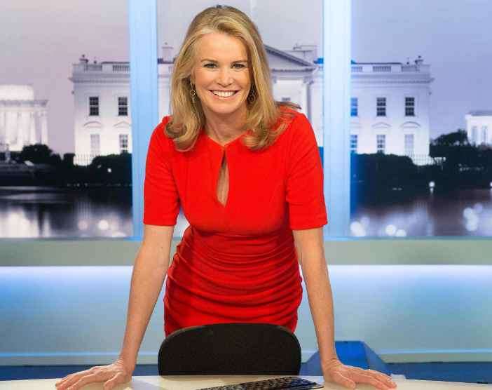 Katty Kay in her studio. professional life, career