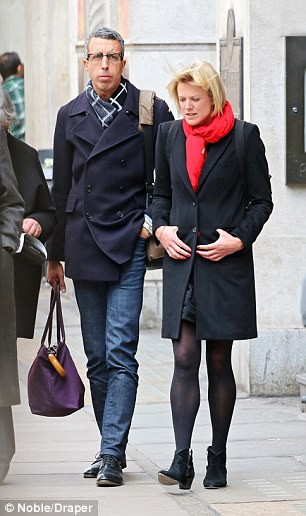 Sophie Long with her former partner Kamal Ahmed. personal life, spouse, partner, lover, boyfriend.