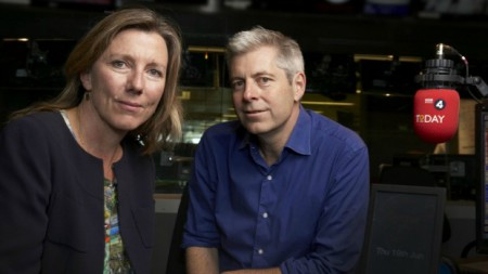 Sarah Montague with Justin Webb; Know about Montague career, net worth, income and salary