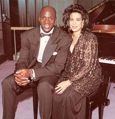 Jordan and his first wife Juanita. Know about his personal life, marriage, children, and more