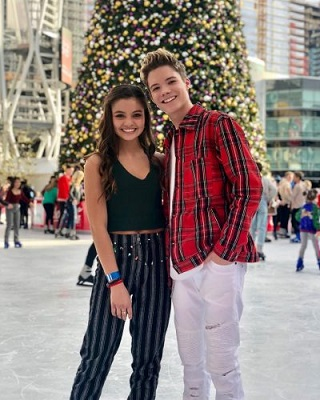 Siena Agudong anhd her boyfriend Connor Finnerty. Know about her personal life, dating, affair
