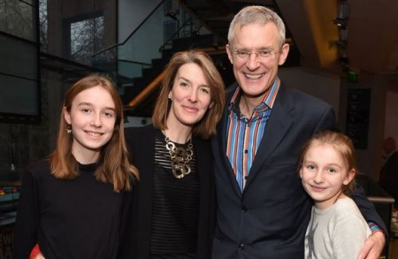 Jeremy Vine with his wife and daughters; Know about their personal life