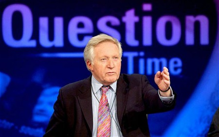 David Dimbleby, former presenter of Question Time; Know about his income, net worth, salary, married and wife