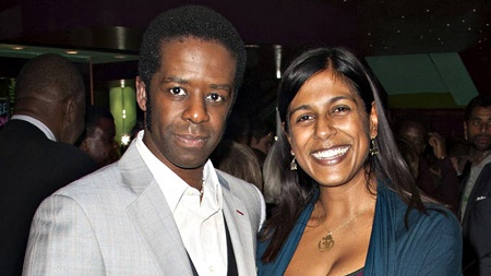 Lolita Chakrabarti and Adrian Lester tied the wedding knot on  31 August 1997. Know more about Lolita Chakrabarti married, spouse, wedding, nuptial, husband, and other marital details