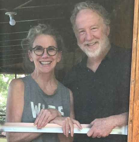 Timothy Busfield with his wife Melissa via Mellissa's Instagram. wife, partner, relationship
