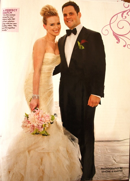 Luca Cruz Comrie's parents Hilary Duff and Mike Comrie in their wedding day. Know about her married, children, boyfriend, children