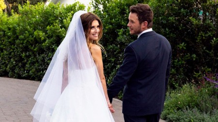 Katherine Schwarzenegger and Chris Pratt's wedding