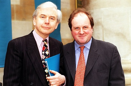 James Naughtie with his co-worker at BBC .Know about his salary, net worth.