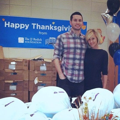 J.J. Redick and his wife Chelsea at their foundation. Know about her career, profession, and more