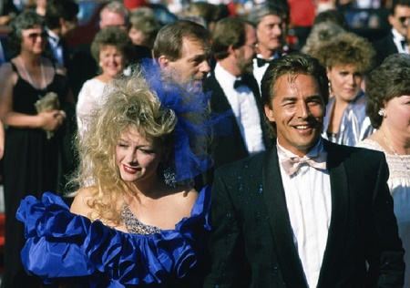 Jesse Johnson's parents Don Johnson and Patti D'Arbanville