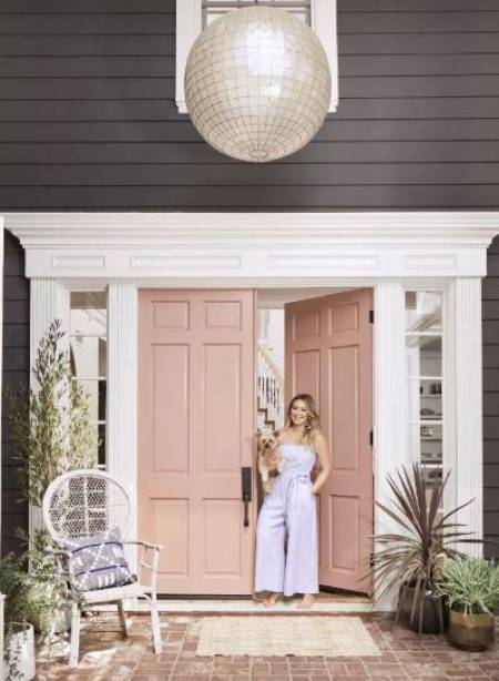 Hilary Duff's vibrant LA House