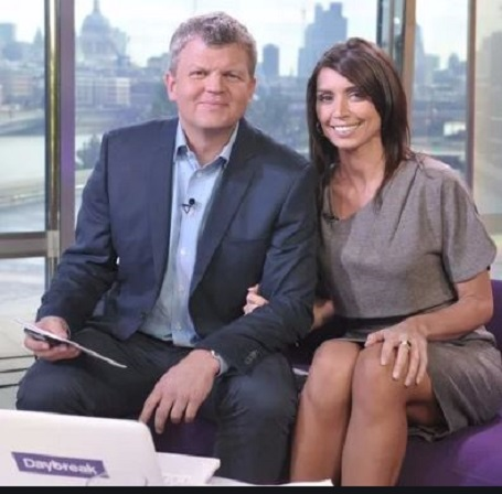 mage: Adrian with Christine Bleakley