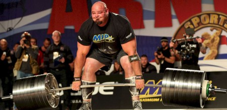 Brian Shaw has won multiple World's Strongest Champion title