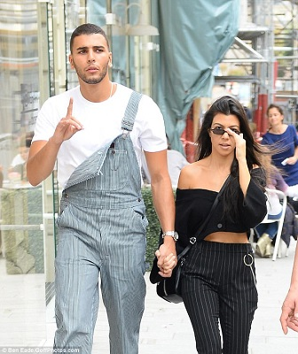 Younes and Kourtney Kardashian. know about his career, profession