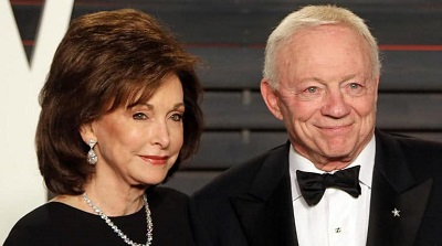 Eugenia and Jerry Jones. Know about her career, profession
