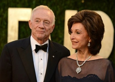 Eugenia and her husband Jerry Jones. Know about her personal life, marriage, husband, and more