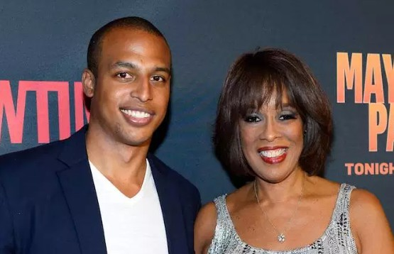 William Bumpus 's ex-wife Gayle King with their son William Bumpus Jr.