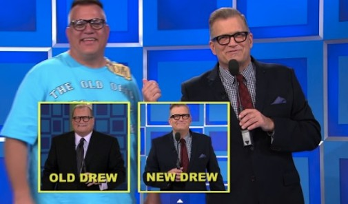 Drew Carey in his show.