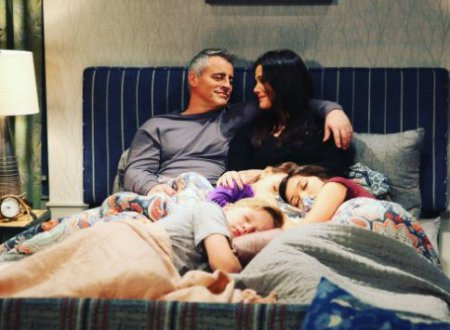 Liza Snyder on-screen husband, Matt LeBlanc