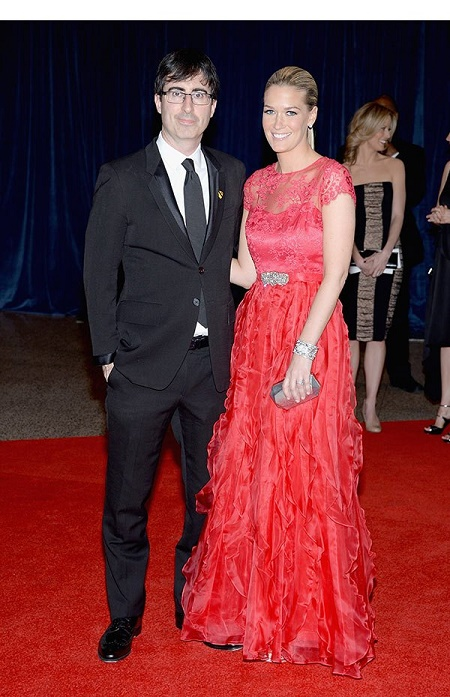 Kate Norley and her husband, John Oliver