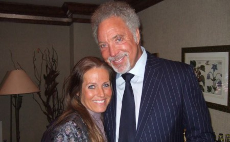 Charlotte Laws and her first boyfriend, Tom Jones