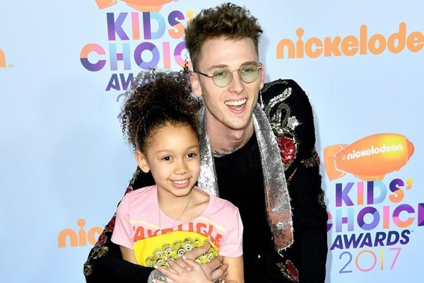 Casie Colson Baker and musician Machine Gun Kelly attened the Nickelodeon's Kids' Choice Awards in 2019