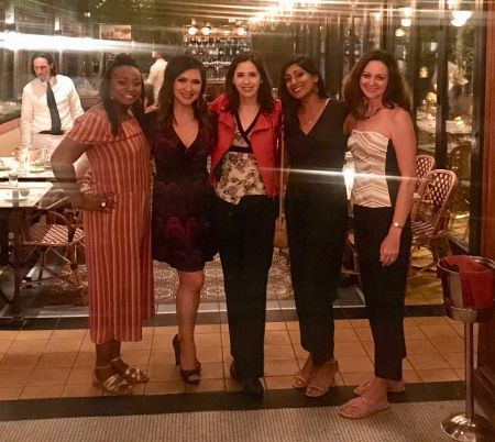 Maya Rodriguez is celebrating her birthday with longtime friends
