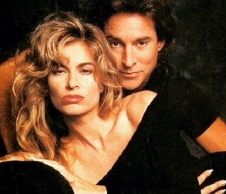 Drake Hogestyn with his partner during early days