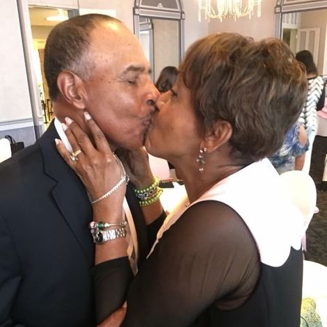 Rhonda Walker's parents Dr. Ronald and Harriette Gillum celebrated their 55th wedding anniversary
