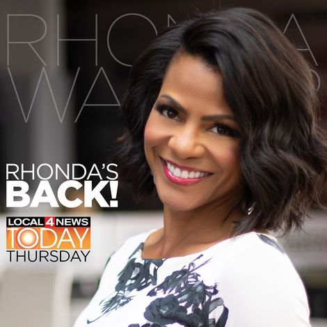 Rhonda Walker back on WDIV-Local 4