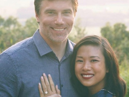 Darah Trang and Husband Anson Mount Married Life