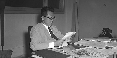 Lee while serving as a lawyer before becoming the Prime Minister