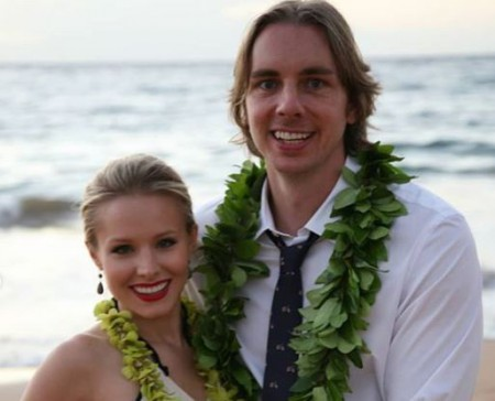 Image: Kristen Bell with her husband, Dax Shepard, Source: Instagram