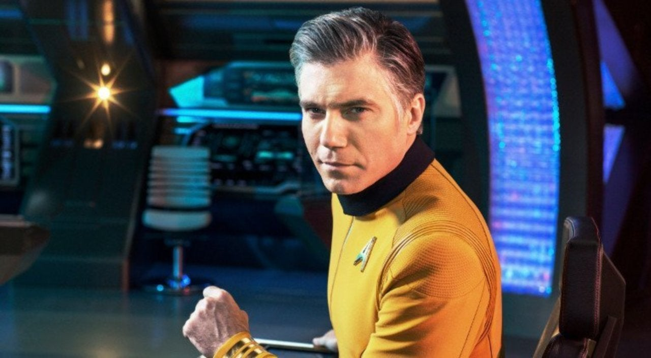 Anson Mount on Star Trek: Short Treks