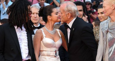 Bill Murray and Selena Gomez' playful moment