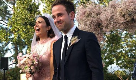 Mandy Moore and Taylor Goldsmith's wedding image; know about their dating history