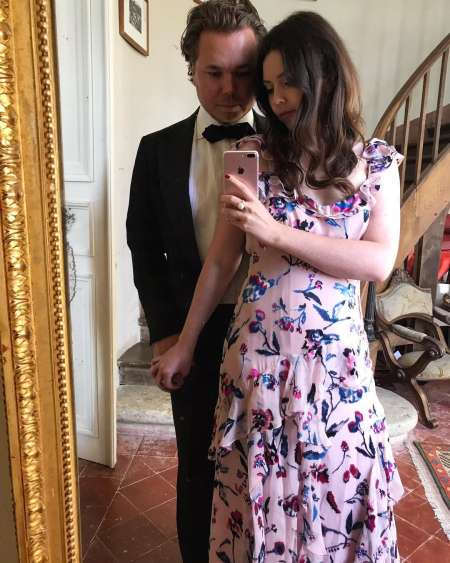Tanya Taylor and her husband, Michel Pratte ready for wedding