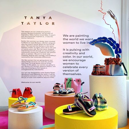 Tanya Taylor's unique designs in sandals