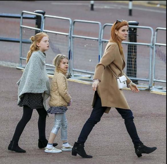 These are Sarah Rafferty's children