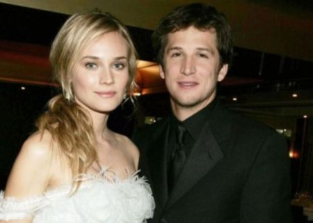 Picture: Diane Kruger with her husband, Guillaume Canet