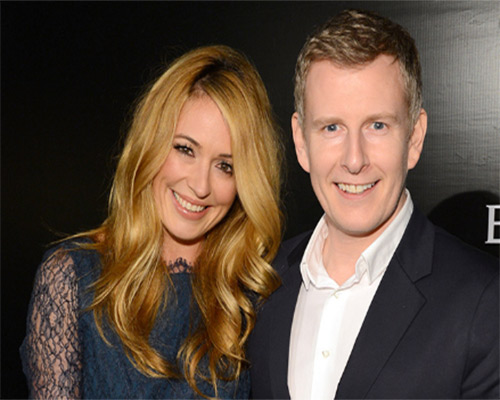 Patrick Keilty with his wife Cat Deeley