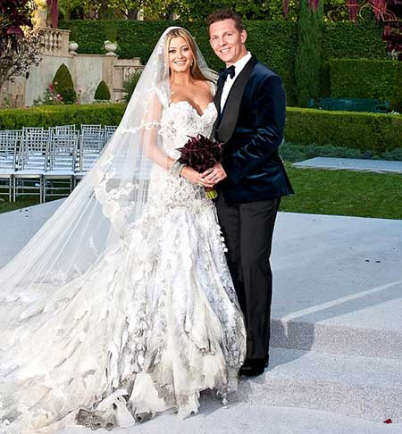 The duo tied the knot in 2012 in Rome.