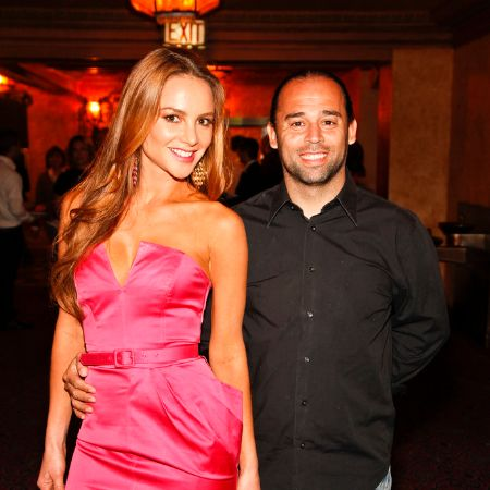 Ximena and Ex-Husband Carlos at an event
