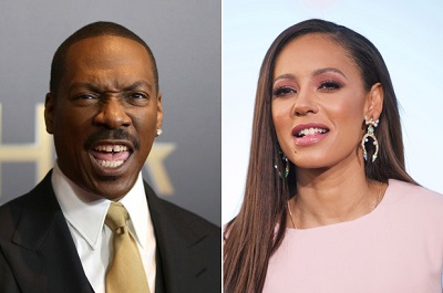 Angel Brown's father Eddie Murphy and mother Melanie Brown