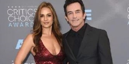 Picture: Lisa Ann with her second husband Jeff Probst