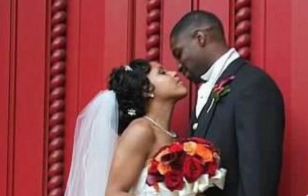 Sheinelle Jones and Uche Ojeh's wedding image