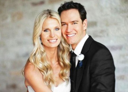 Catriona McGinn and her husband, Mark-Paul Gosselaar; Know about their wedding