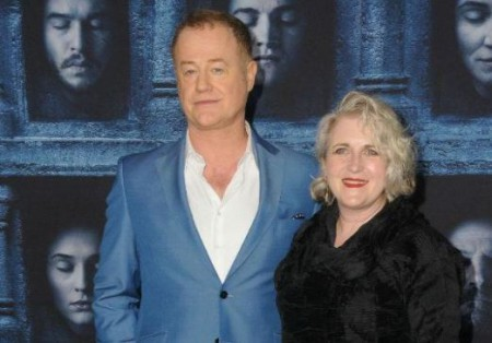 Sylvestra Le Touzel with her husband, Owen Teale; Know about their relationship